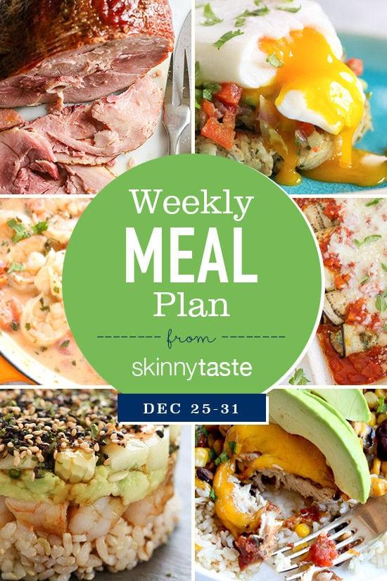skinnytaste meal plan december 25  u2013 31