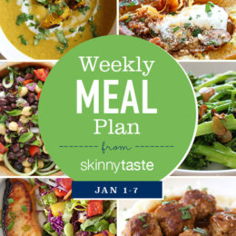 To help you jump start your goals for 2018, I am sharing another free 7-day flexible meal plan including breakfast, lunch and dinner for the entire week as well as a shopping list! This also leaves room for you to add coffee, snacks, dessert, wine, etc.