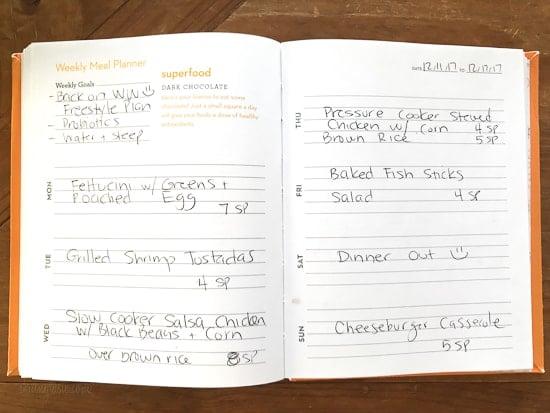 Skinnytaste Dinner Plan (Week 103)