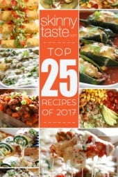 Top 25 Most Popular Skinnytaste Recipes 2017