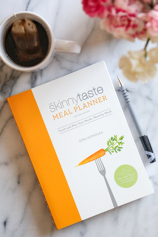 I'm super excited to share the completely updated and revised Skinnytaste Meal Planner, Revised Edition a 52-week, daily meal planner to help you jump start your health goals by getting organized. Based on everyone's feedback about improving my previous Meal Planner, this revised planner was improved based on your feedback!