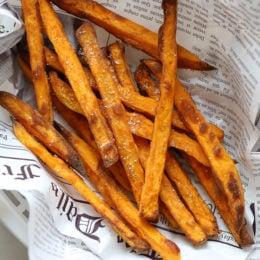 Crispy Air Fryer Sweet Potato Fries Skinnytaste
