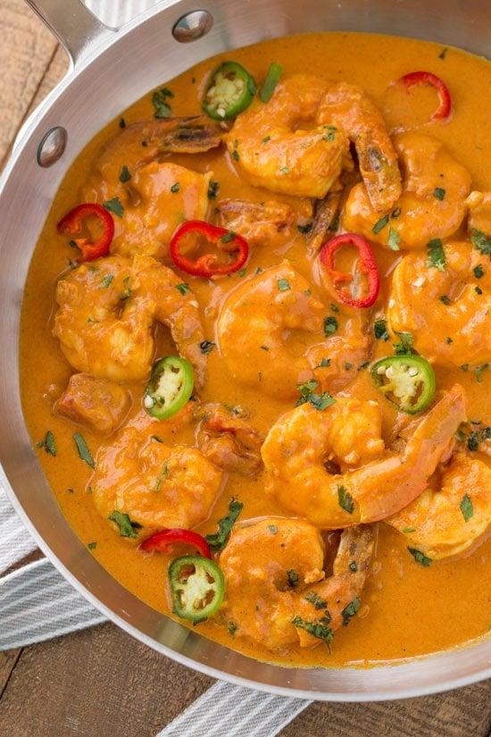 Indian Shrimp Curry Recipe 20 Minute Skinnytaste