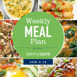 Skinnytaste Meal Plan (January 8-January 14)