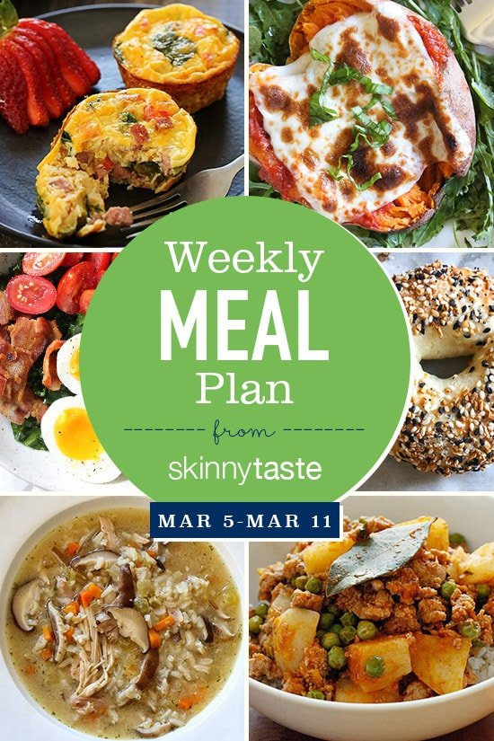 skinnytaste meal plan march 5 march 11 skinnytaste