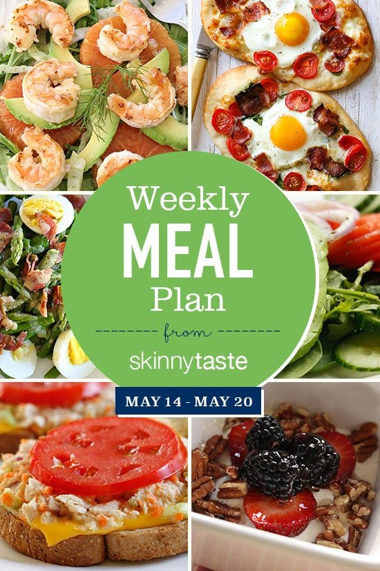 Skinnytaste Meal Plan (May 14-20)