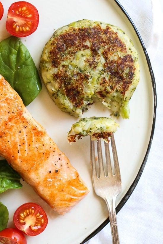 Potato And Broccoli Cakes Skinnytaste