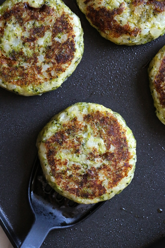 These easy, copycat Ikea vegetable potato and broccoli cakes called grönsakskaka make a delicious side dish for breakfast or dinner!