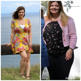 """Leaving a toxic relationship and in a new healthy one, I needed to finally do something for myself."" Justine lost 65 pounds with the help of Weight Watchers."