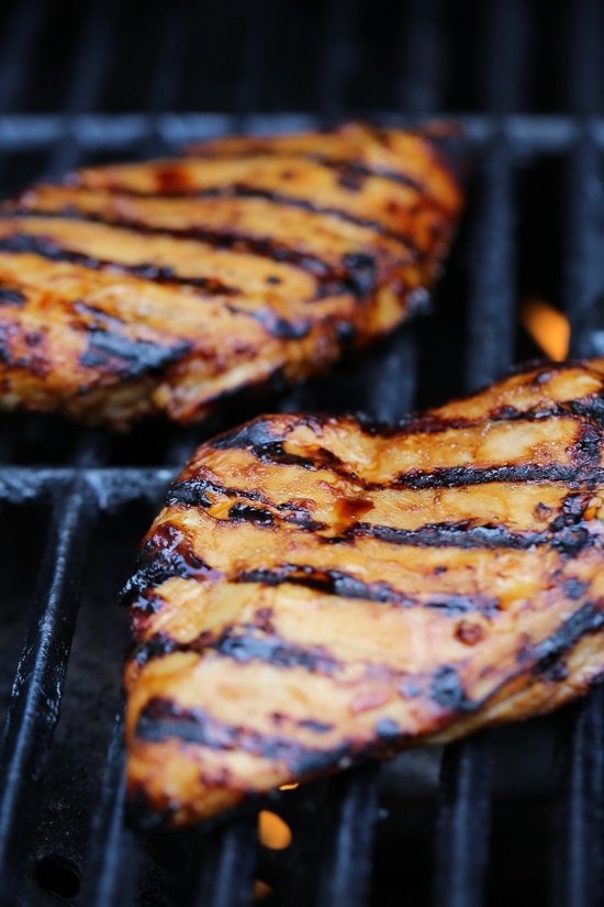 This recipe takes boring grilled chicken to a whole new level!