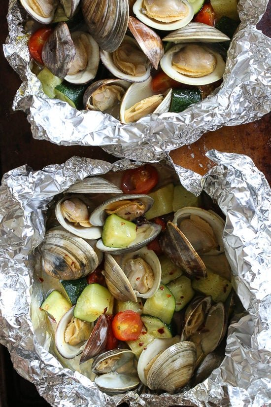 Grilled Clams in Foil | Skinnytaste