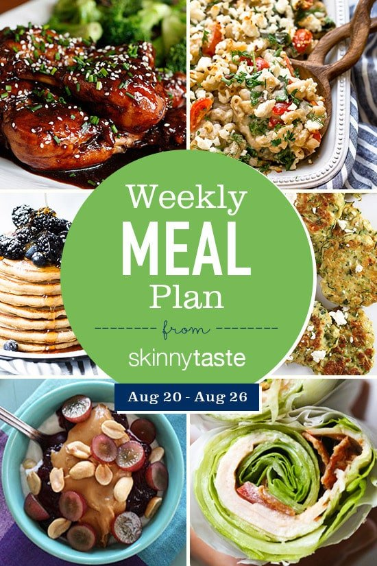 Skinnytaste delicious healthy recipes made with real food a free 7 day flexible meal plan including breakfast lunch and dinner and a forumfinder Images