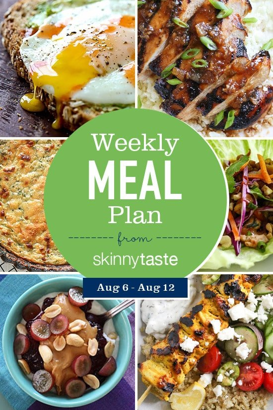 Skinnytaste meal plan aug 6 aug 12 skinnytaste while we are still enjoying the rest of our summer here in the north i know many of you are preparing for your children to go back to school and some forumfinder Images