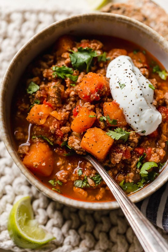 No Bean Turkey Amp Sweet Potato Chili Sweet Potato Recipe