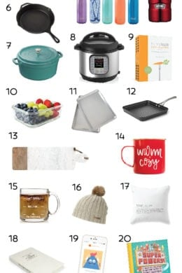 a Holiday Gift Guide to help you find something for everyone on your list