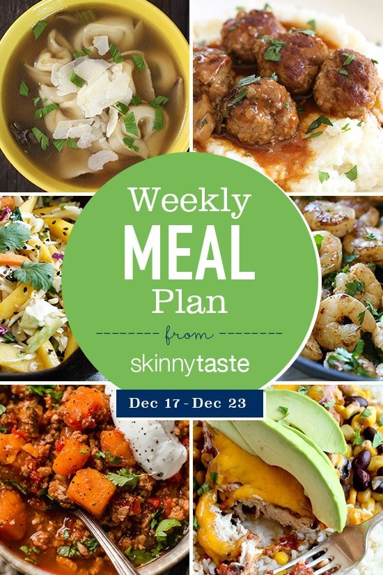 A Free 7 Day Flexible Weight Loss Meal Plan Including Breakfast Lunch And Dinner