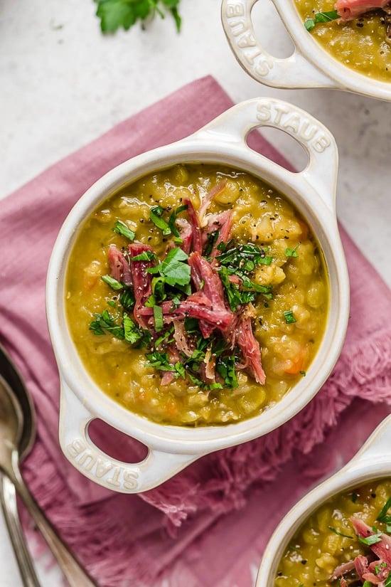Slow Cooker Split Pea Soup Skinnytaste