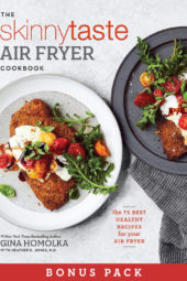 Skinnytaste Air Fryer Cookbook Bonus