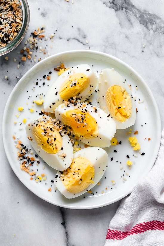 Making hard boiled eggs in the air fryer is so quick and easy, no water needed!