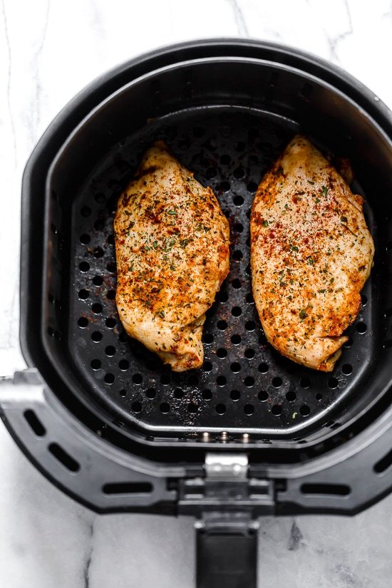 This foolproof recipe for making boneless chicken breast in the air fryer with give you perfectly juicy chicken every time.