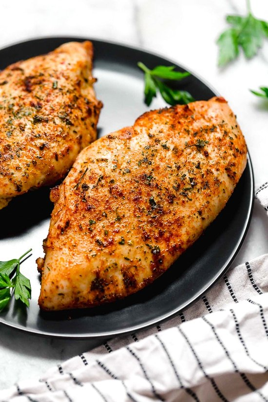 Perfect Air Fryer Chicken Breast No Breading Skinnytaste