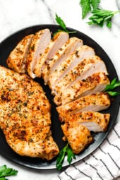 keto chicken breasts in the air fryer