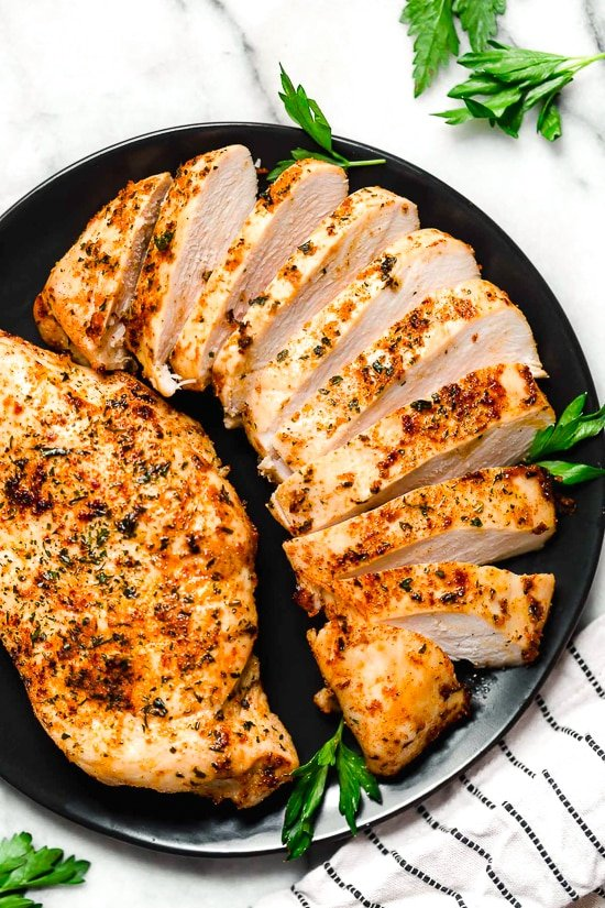 Perfect Air Fryer Chicken Breast No Breading Skinnytaste