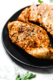 Air Fryer Boneless Chicken Breasts, no breading