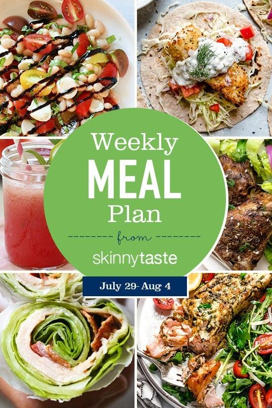 Skinnytaste Meal Plan (July 29-August 4) - Skinnytaste