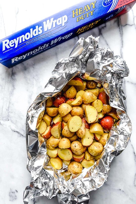 How To Make Foil Packets