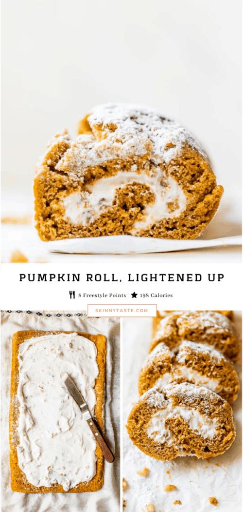 Thanksgiving Pumpkin Roll Recipe
