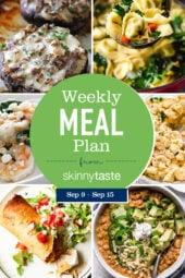 Skinnytaste Meal Plan (September 9-September 15)