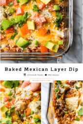Baked Taco Layer Dip