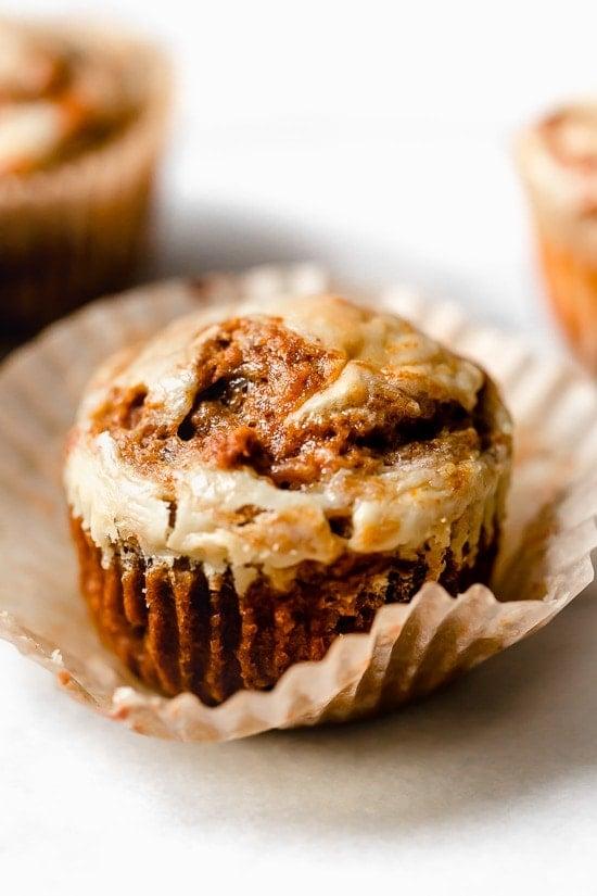 Receta fácil de muffins de calabaza