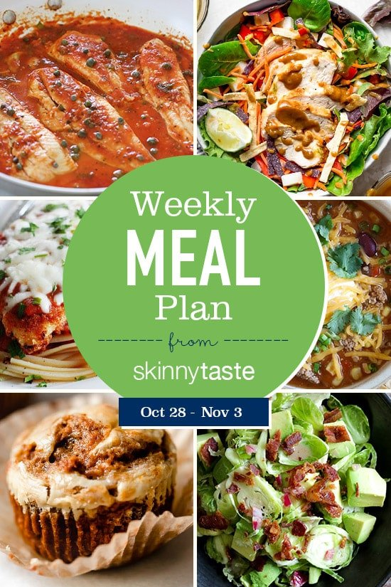 Free weight loss meal plan