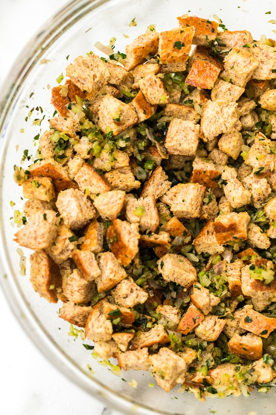 Easy healthy stuffing recipe.
