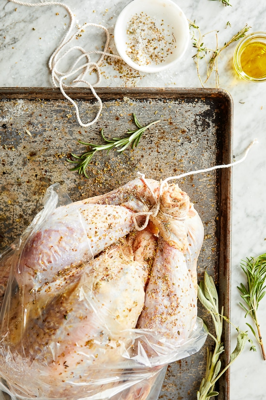 How to dry a turkey with brine