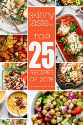 Top 25 Most Popular Skinnytaste Recipes of 2019