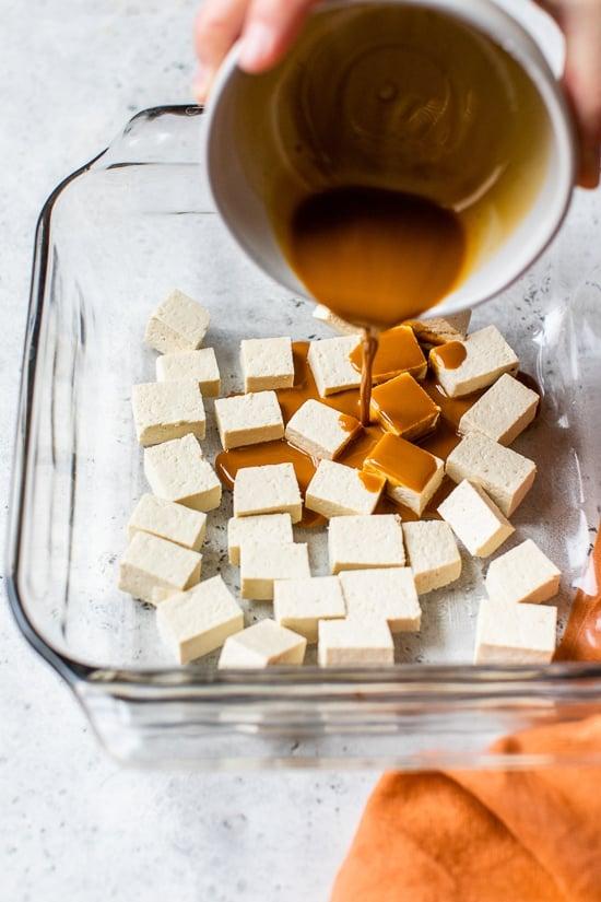 Cómo saltear el tofu extra firme