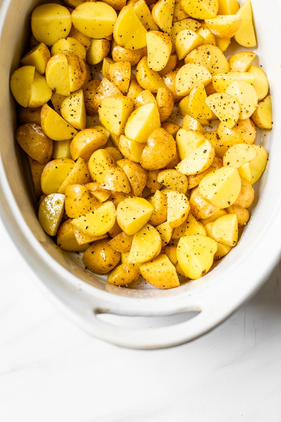 baby potatoes to roast for breakfast bowls