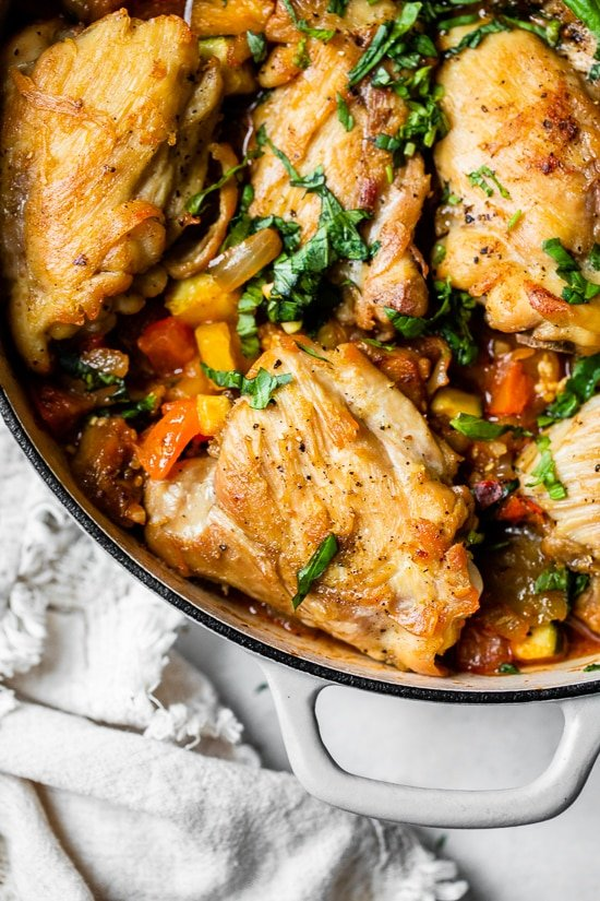 Ratatouille Baked Chicken