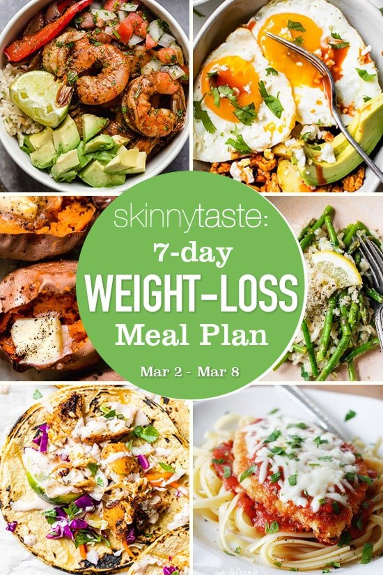 Weight loss diet 7-Day Weight-Loss Meal Plan (March 9-15) thumbnail