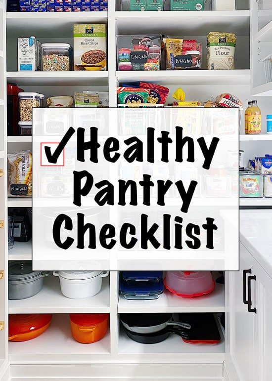 A list of pantry, refrigerator and freezer staples you should always keep stocked to whip up a healthy meal without a trip to the grocery store.