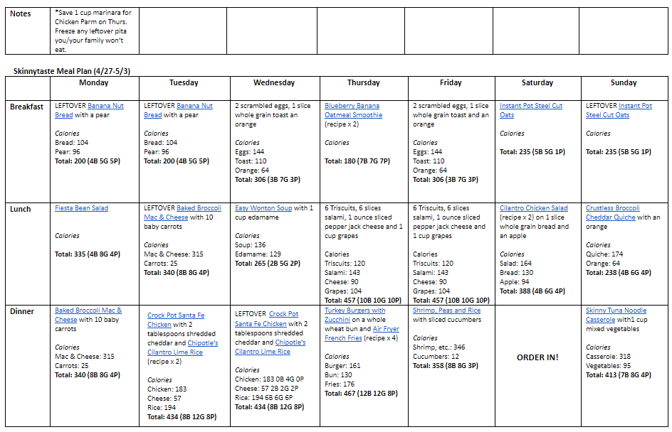Home.fit STApr202 14-Day Healthy Meal Plan (April 20-May 3)