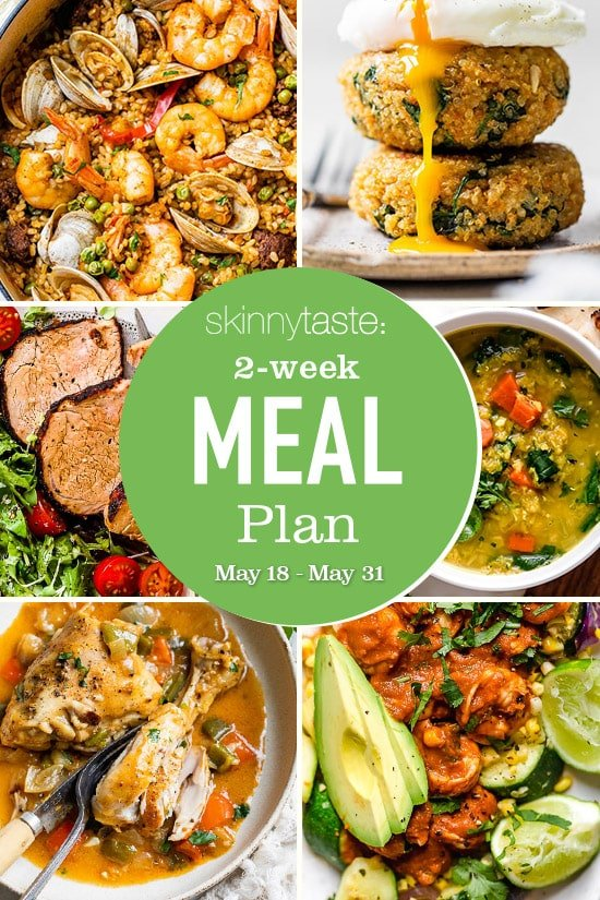 Photo of 14-Day Healthy Meal Plan (May 18-31)