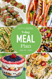 7 Day Healthy Meal Plan (June 29-July 5)