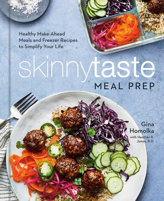 Imagen de portada para el libro de cocina de preparación de comidas Skinnytaste