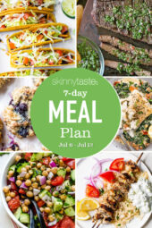 7 Day Healthy Meal Plan (July 6-July 12)