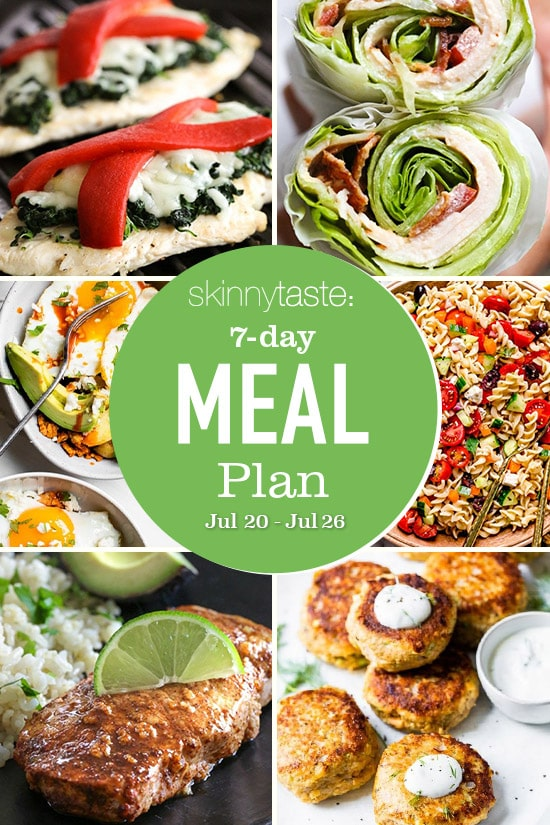 Weight loss diet 7 Day Healthy Meal Plan (July 20-26) thumbnail