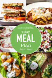 7 Day Healthy Meal Plan (July 27-Aug 2)